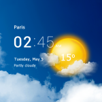 Transparent Clock and Weather Mod Apk 5.8.1